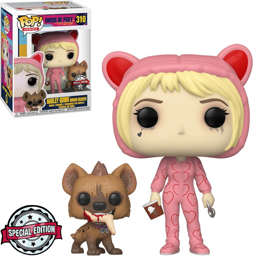 Pop! Alerquina (Harley Quinn Broken Hearted): Aves de Rapina (Birds Of Prey) Exclusivo #310 - Funko