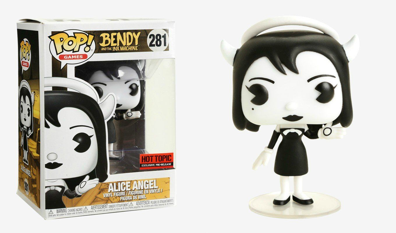 Pop! Alice Angel: Bendy and the Ink Machine (Exclusivo) #281 - Funko