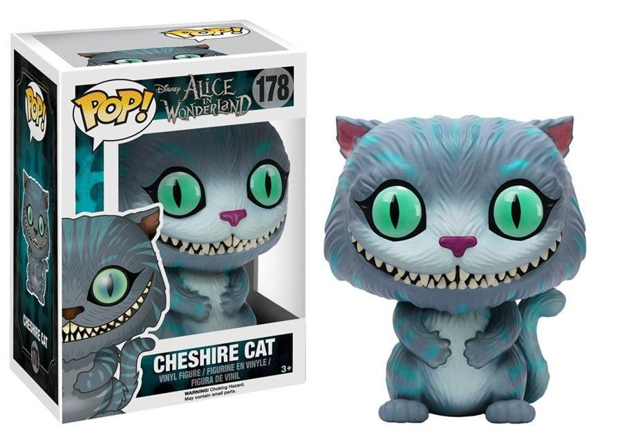Funko Pop Gato Que Ri (Cheshire Cat): Alice no País das Maravilhas #178 - Funko