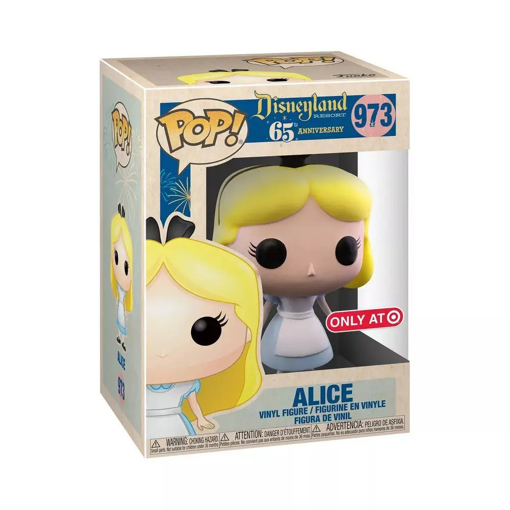 PRÉ VENDA: Funko Pop! Alice no País das Maravilhas: Alice (Aniversário 65 Anos) #973 - Funko