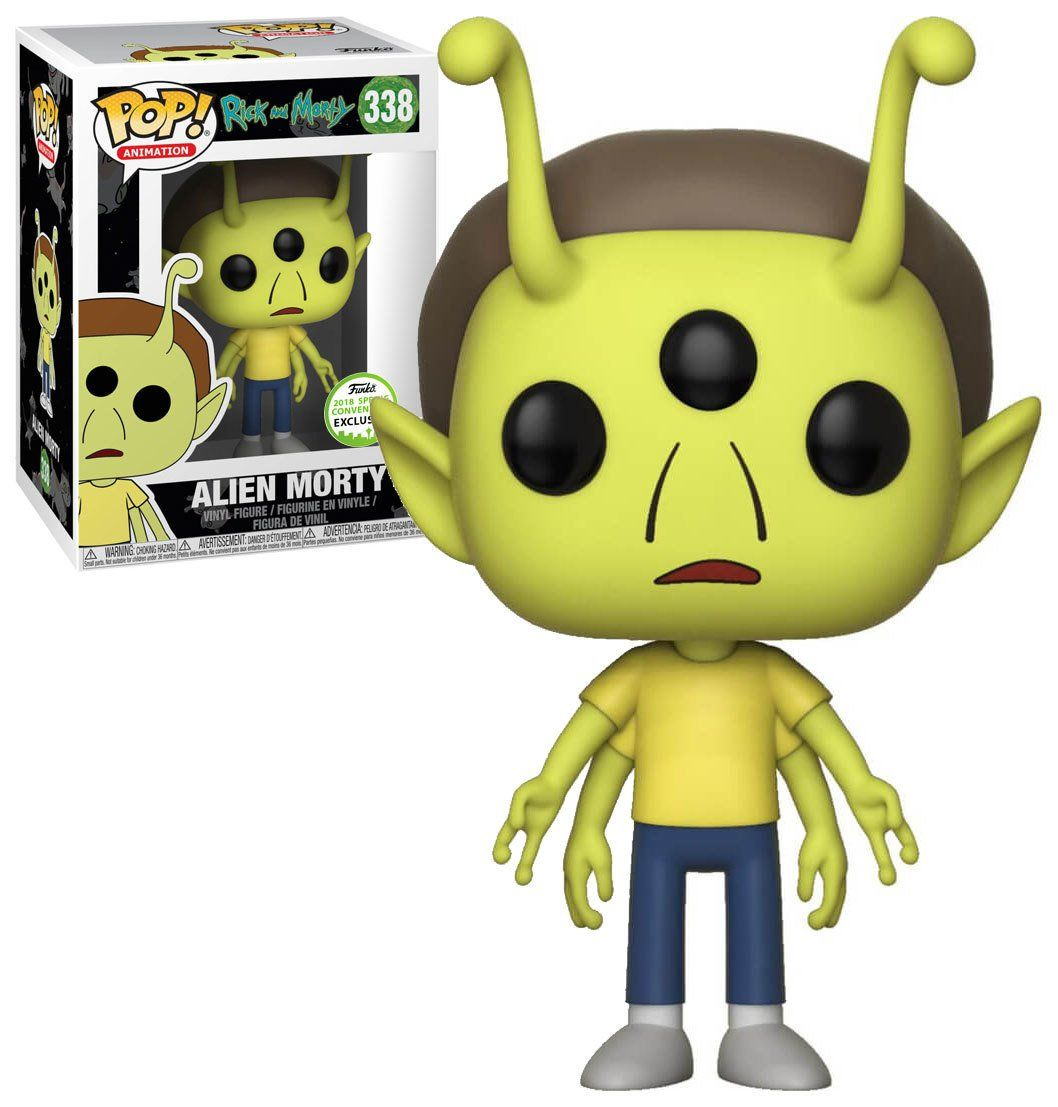 Pop! Alien Morty: Rick and Morty (Exclusivo) #338 - Funko