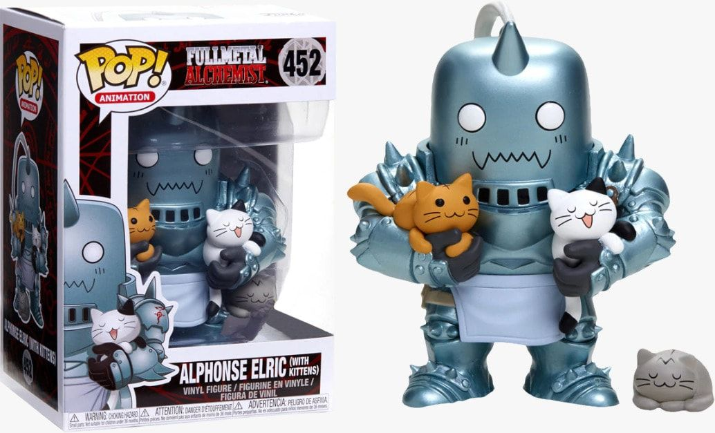 Funko Pop! Alphonse Elric (With Kittens) : Fullmetal Alchemist  #452 (Exclusivo) - Funko