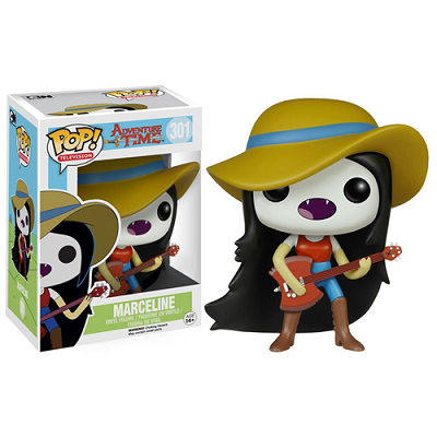 Marceline com Guitarra: Adventure Time #301 - Pop Funko