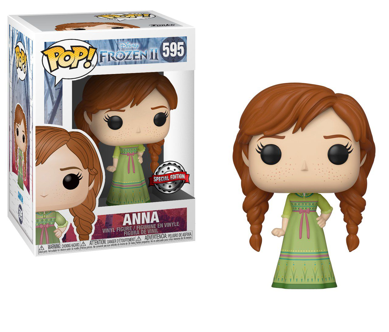 Funko Pop! Anna: Frozen 2 (Exclusivo) #595 - Funko