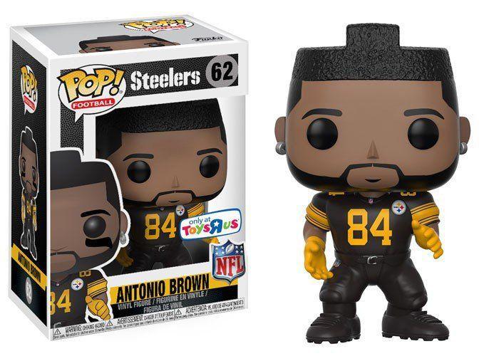 Funko Pop Antonio Brown: NFL Steelers (Exclusivo) #62 - Funko