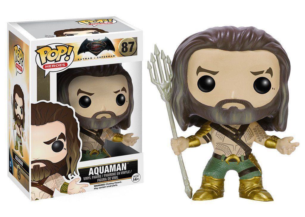 Funko Pop Aquaman: Batman Vs Superman #87 - Funko