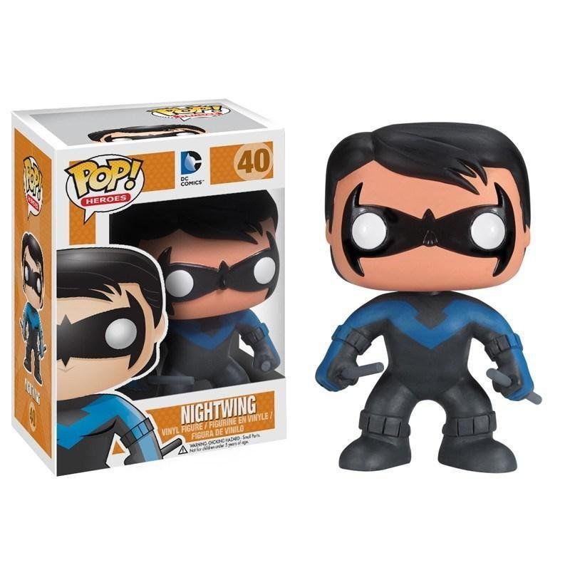 Funko Pop Asa Noturna (Nightwing): DC Comics #40 - Funko