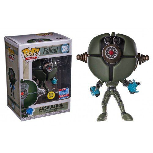 Pop! Assaultron: Fallout (Exclusivo) #386 - Funko