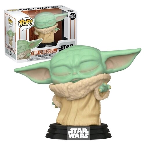 Funko Pop! Grogu ''Baby Yoda'' Usando a Força ( The Child Force Wieldin): The Mandalorian - Star Wars (Edição Especial)  #385 - Funko