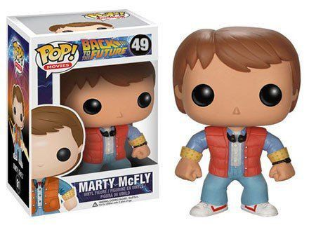 Funko Pop Marty McFly: De Volta Para o Futuro (Back To The Future) #49 - Funko