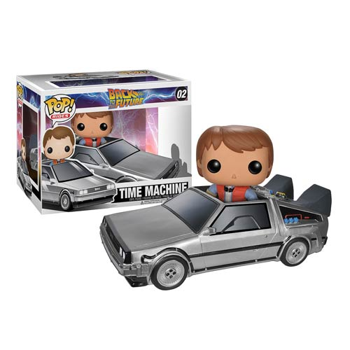 POP! Back to the Future: Time Machine Delorean #02 - Funko