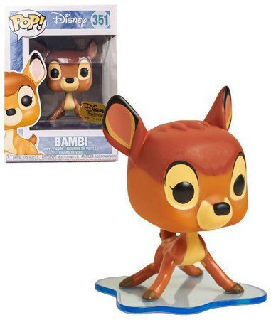 Pop! Bambi (On Ice): Disney Treasures (Disney) Exclusivo #351 - Funko