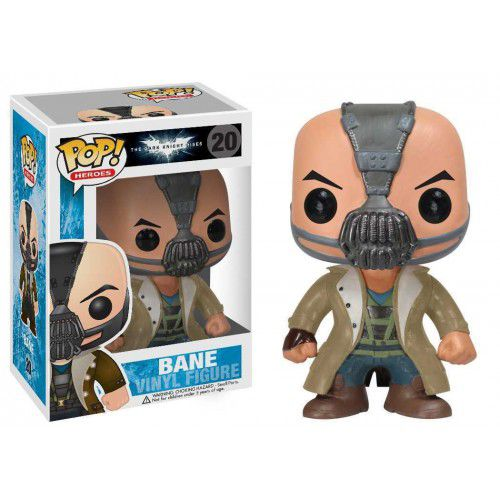 Funko Pop! Bane: Batman O Cavaleiro das Trevas Ressurge (The Dark Knight Rises) (Raro) #20 - Funko