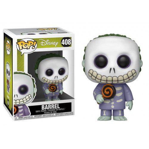 Funko Pop! Barrel: O Estranho Mundo de Jack (Nightmare Before Christmas) #408 - Funko