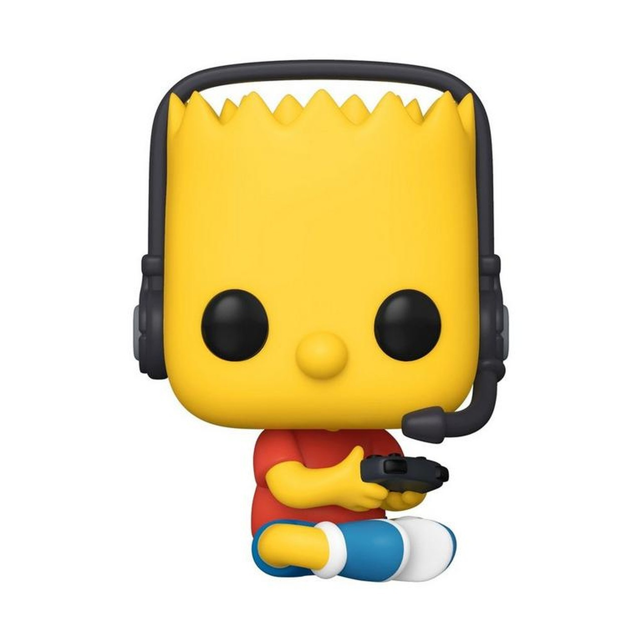 Funko Pop! Bart Gamer : ( Gamer Bart ) Os Simpsons : ( The Simpsons ) Exclusivo #1035 - Funko
