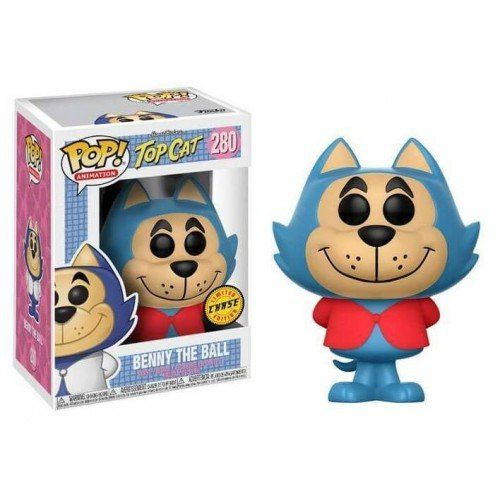 Pop! Batatinha (Benny the Ball) Chase: Top Cat (Manda Chuva) Exclusivo #280 - Funko