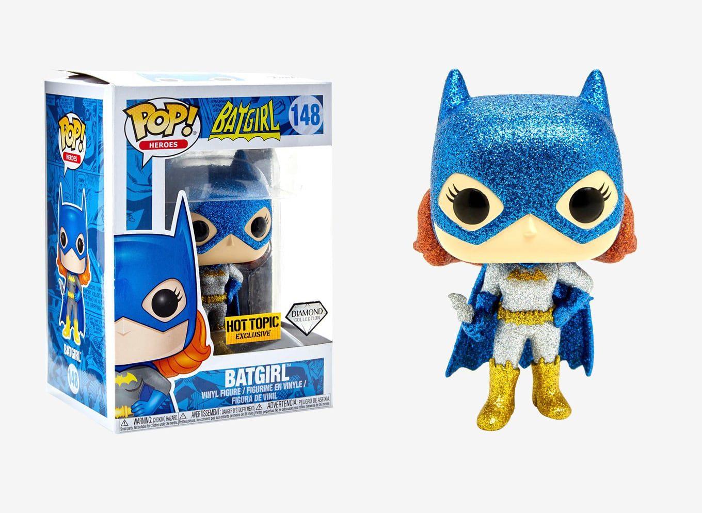 Funko Pop! Batgirl (Diamond Collection): DC #148 (Exclusivo) - Funko