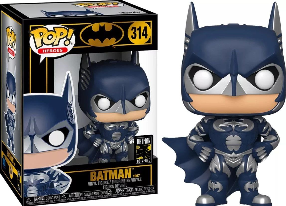 Funko Pop! Batman 1997: DC Comics (Batman 80th Anniversary) #314 - Funko