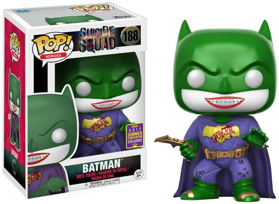 Funko Pop Batman (Coringa): Esquadrão Suicida Exclusivo #188 - Funko