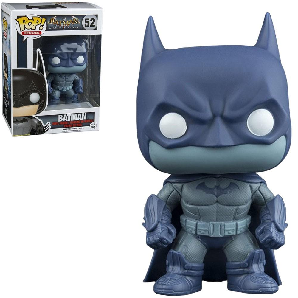 Funko Pop! Batman (Detective Mode): Batman Arkham Asylum (Exclusivo) #52 - Funko