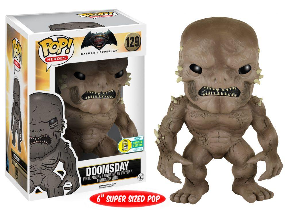 Funko POP! Batman vs Superman - Doomsday SDCC 2016 - Funko