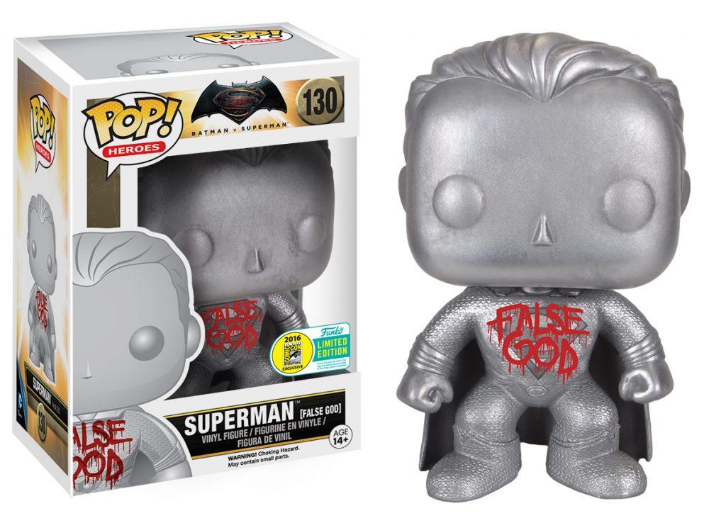 POP! Batman vs Superman - False God - SDCC