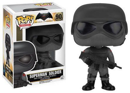 Funko Pop Superman Soldier: Batman Vs Superman #90 - Funko