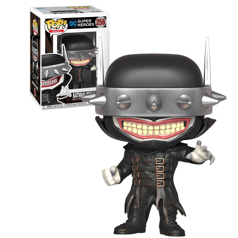 Pop! Batman Who Laughs: DC Super Heroes (Exclusivo) #256 - Funko