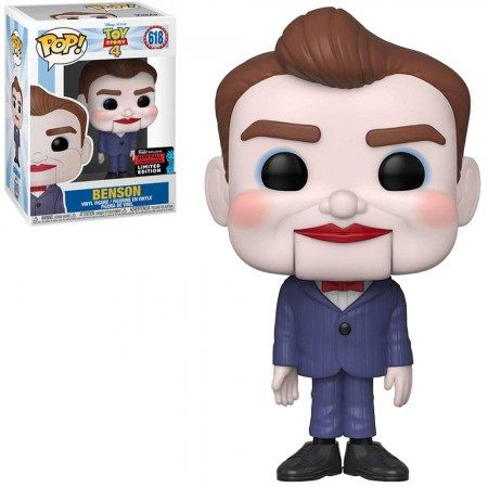 Pop! Benson: Toy Story 4 (Exclusivo NYCC) #618 - Funko