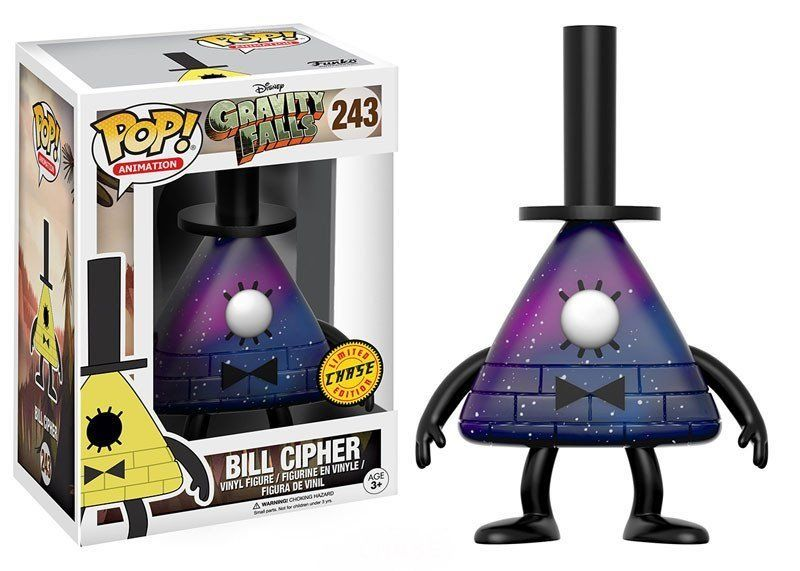 Pop Bill Cipher (Chase): Disney Gravity Falls #243 - Funko