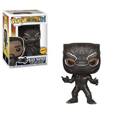 Pop Black Panther (Chase): Pantera Negra (Black Panther) #273 - Funko