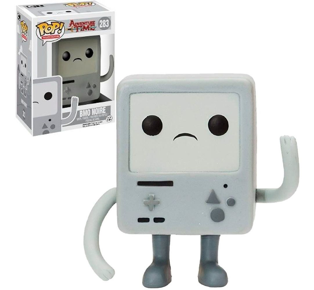 Pop! BMO Noire (Preto e Branco): Hora de Aventura (Adventure Time) Exclusivo #283 - Funko