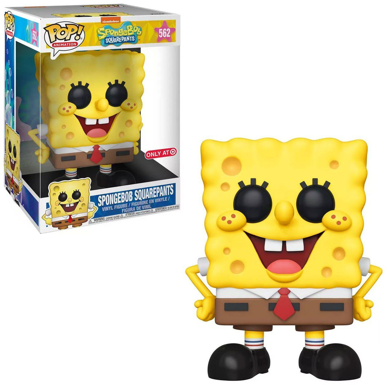 "Pop! Bob Esponja 10"": Bob Esponja (Exclusivo) #562 - Funko"