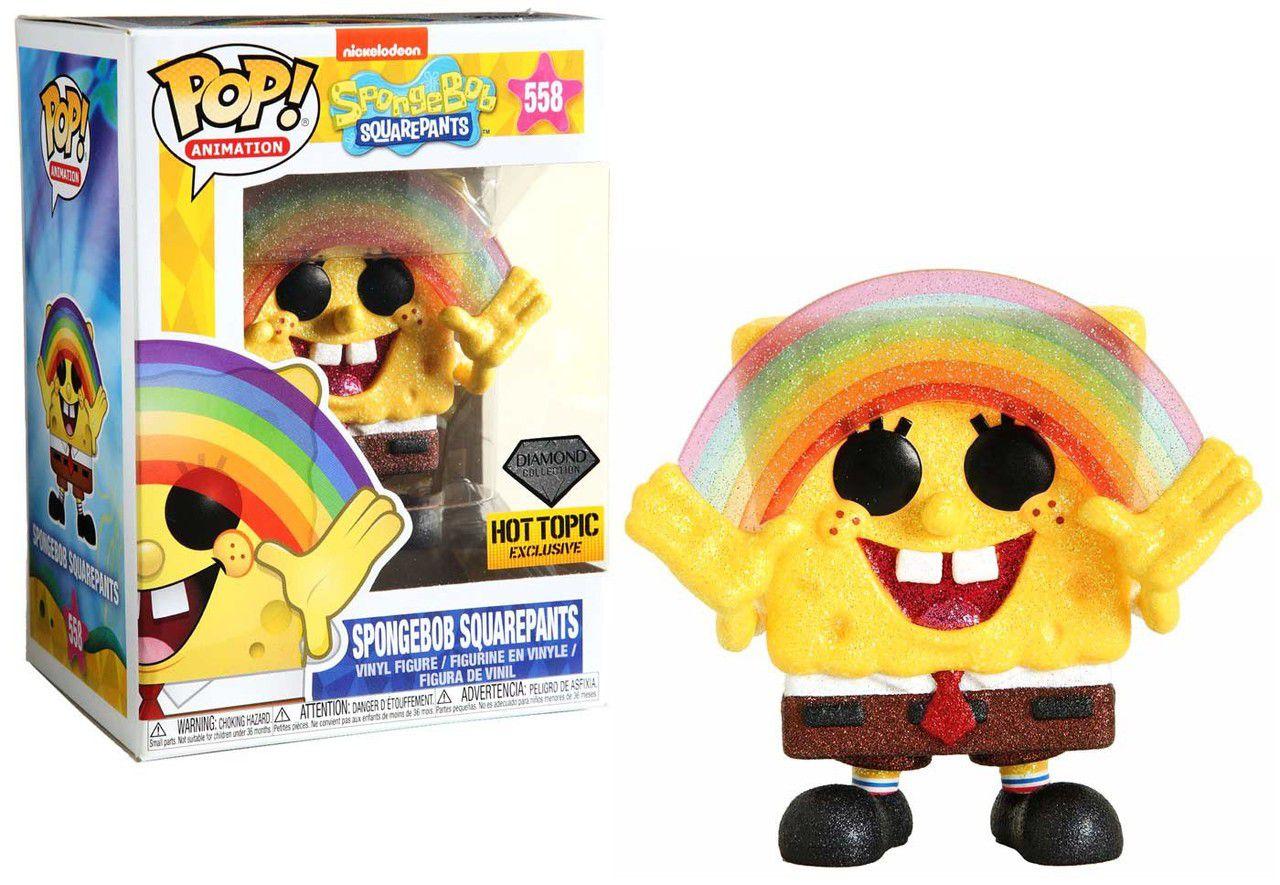 Funko Pop! Bob Esponja Calça Quadrada (Spongebob Squarepants): Bob Esponja (Spongebob) Exclusivo #558 - Funko