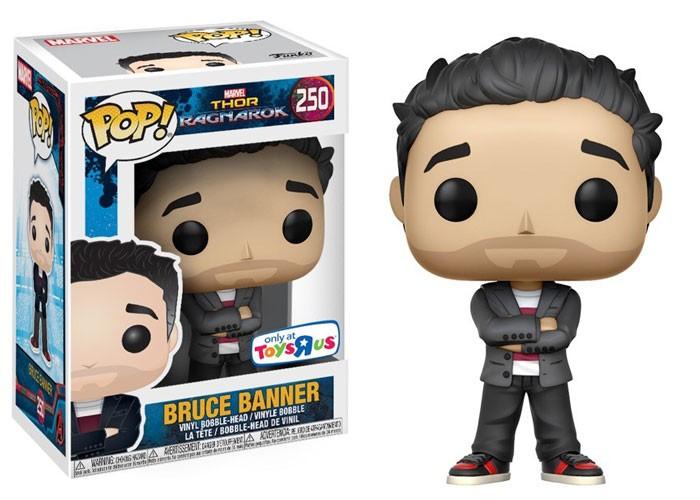Funko Pop Bruce Banner: Thor Ragnarok #250 - Funko