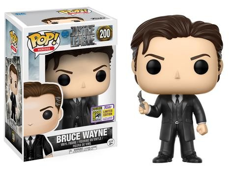 Pop Bruce Wayne: Liga da Justiça (Justice League) (Exclusivo) #200 - Funko