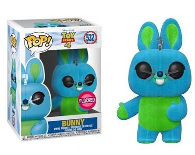 Funko Pop! Bunny (Flocked): Toy Story 4 (Disney) #532 (Exclusivo) - Funko