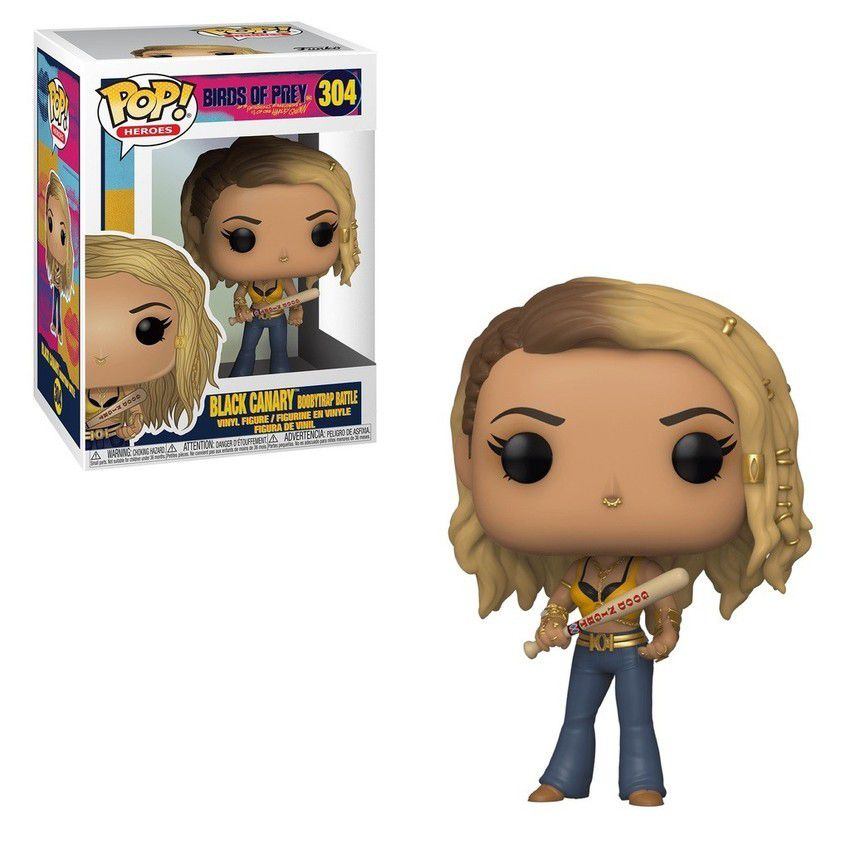 Funko Pop! Canário Negro (Black Canary): Aves de Rapina (Birds of Prey) #304 - Funko