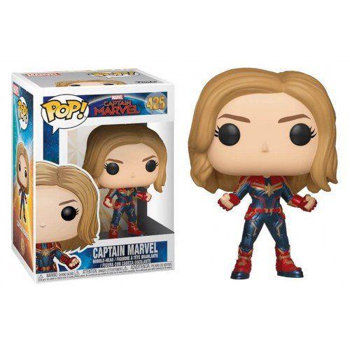 Funko Pop! Capitã Marvel (Captain Marvel): Capitã Marvel (Captain Marvel) #425 - Funko