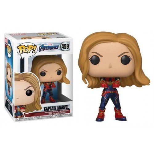 Funko Pop! Capitã Marvel (Captain Marvel): Vingadores Ultimato (Avengers Endgame) #459 - Funko