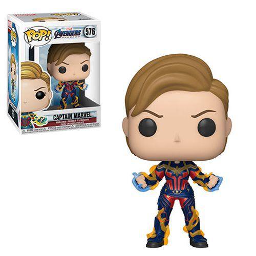 Funko Pop! Capitã Marvel (Captain Marvel): Vingadores Ultimato (Avengers Endgame) #576 - Funko