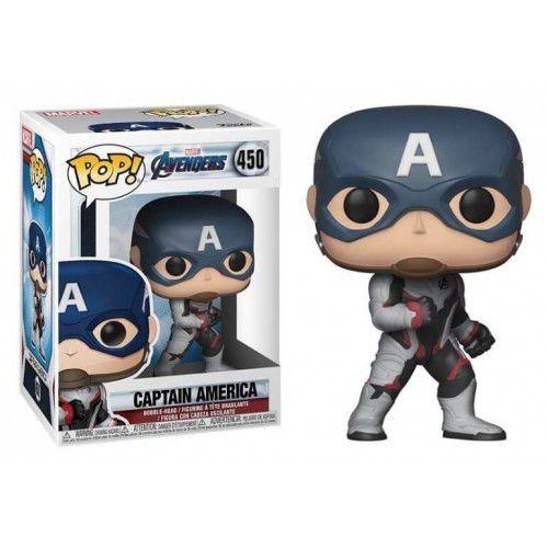 Funko Pop! Capitão América (Captain America): Vingadores Ultimato (Avengers Endgame) #450 - Funko