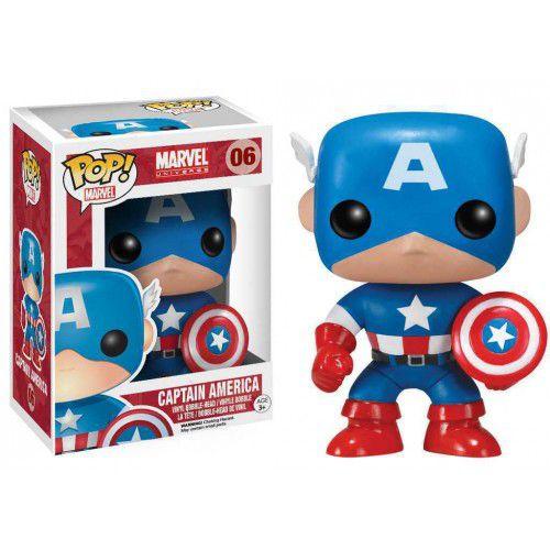 Funko Pop Capitão América: Marvel Universe #06 - Funko