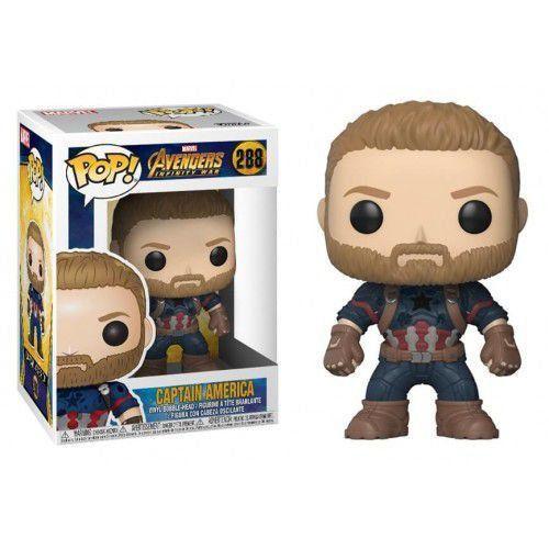 Funko Pop! Captain America: Vingadores Guerra Infinita (Avengers Infinity War) #288 - Funko