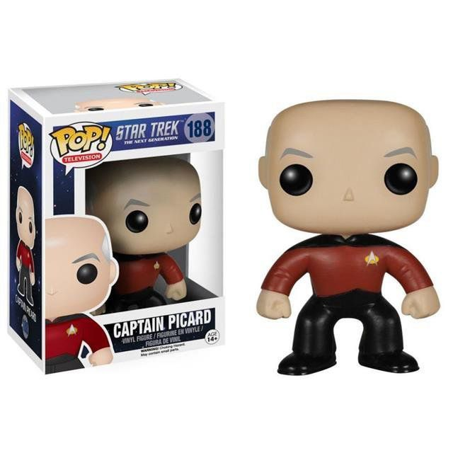 Funko Pop! Captain Picard Star Trek - Funko