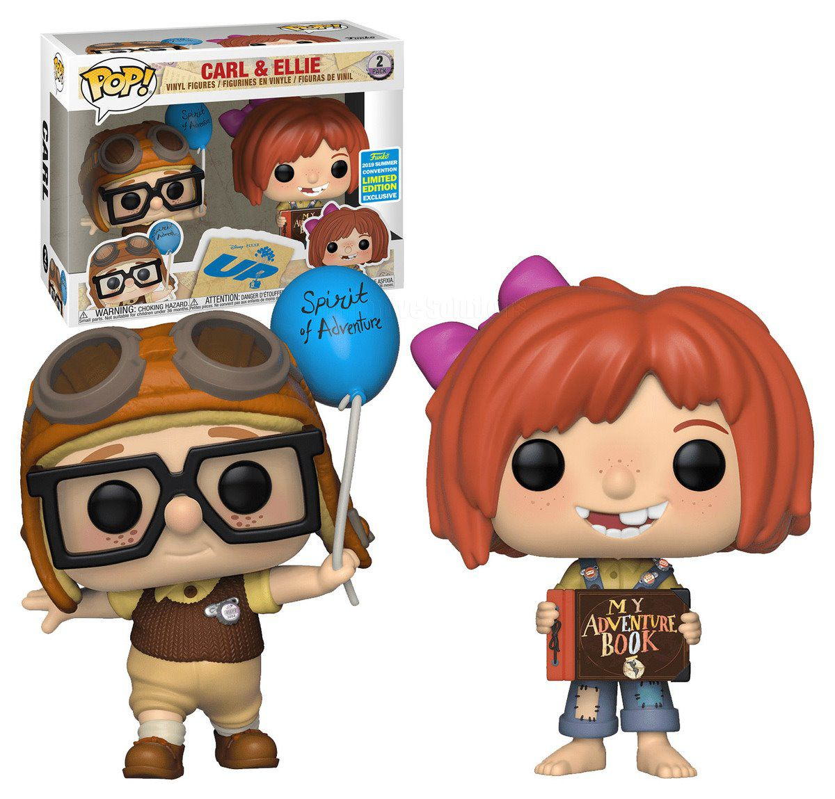 Pop! Carl & Ellie: Up Altas Aventuras (Exclusivo SDCC 2019) #2 - Funko