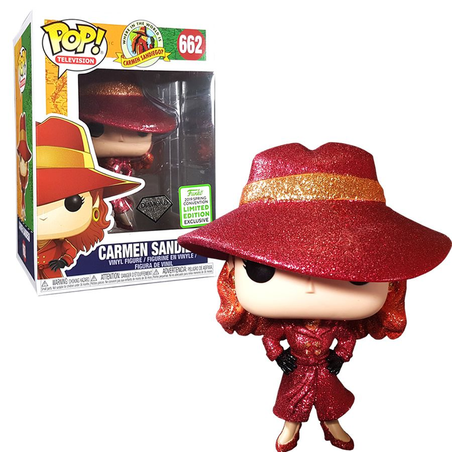 Pop! Carmen Sandiego (Comicon 2019 ): #662 - Funko
