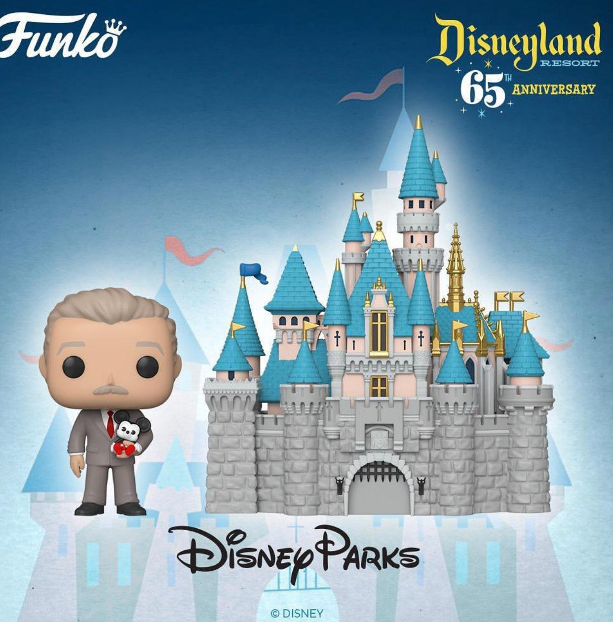 PRÉ VENDA: Funko Pop! Castelo das Princesas e Walt Disney (Sleeping Beauty Castle and Walt Disney) (Aniversário 65 Anos) #20 - Funko - EV