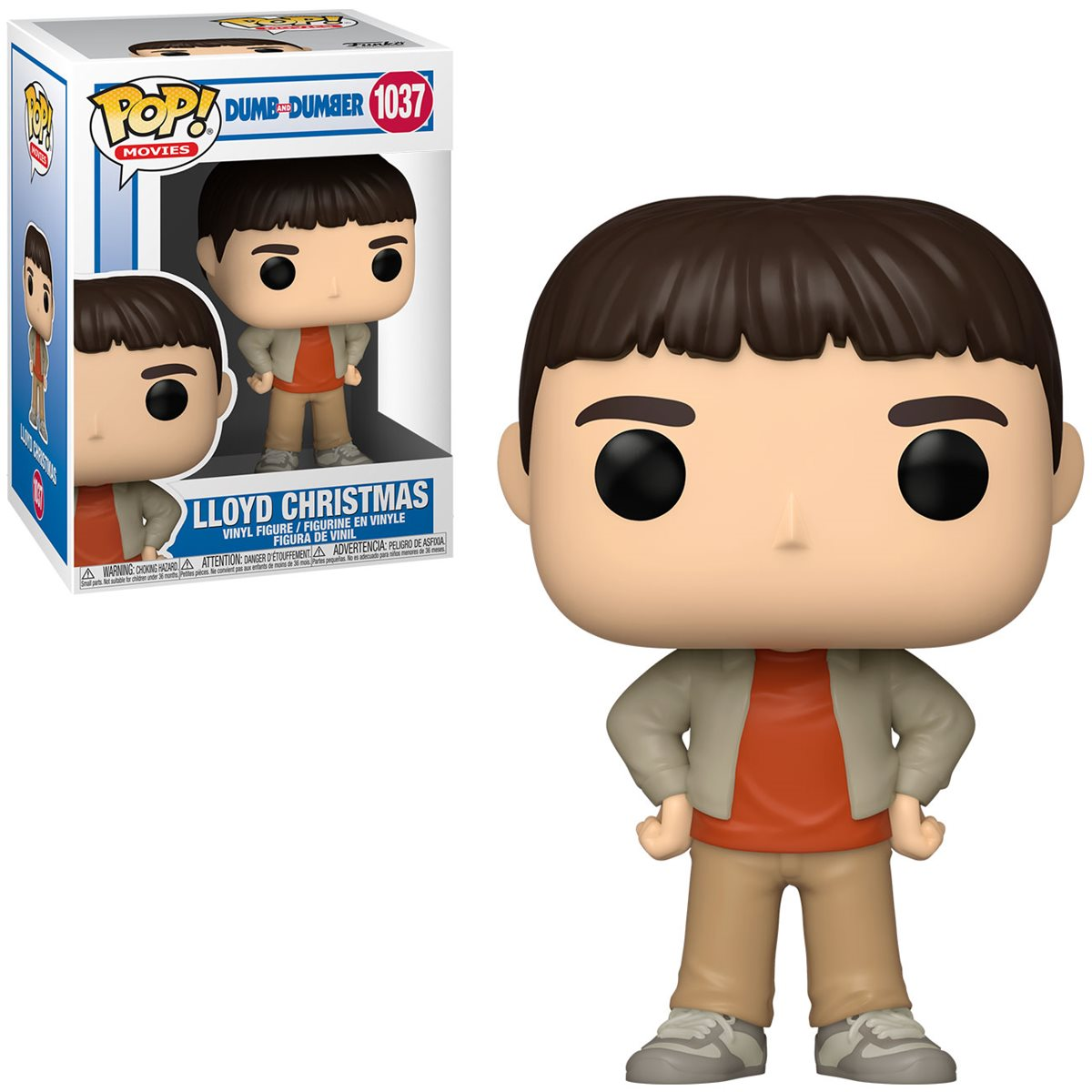 PRÉ VENDA: Funko Pop! Casual Lloyd: Debi & Loide (Dumb and Dumber)  #1037 - Funko