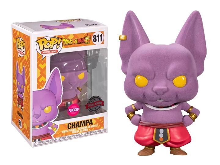 Funko Pop! Champa (Flocked): Dragon Ball Super ( Exclusivo ) #811 - Funko